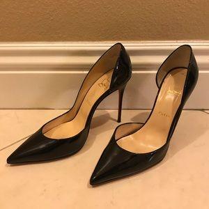 Christian louboutin patent heels